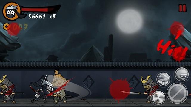 Ninja Revenge - jeux de Ninja pour Android