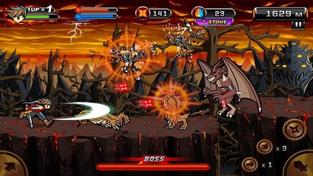 Ninja au Démon 2 - jeux de Ninja pour Android