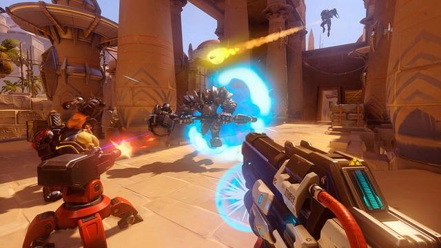 Overwatch - meilleurs jeux multijoueurs sur PlayStation 4