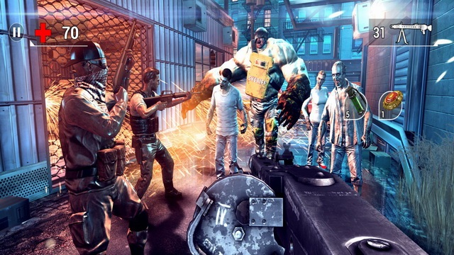 Unkilled - best shooting game (FPS)