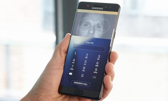 Changer l'aspect de l'écran grâce au scanner d'iris