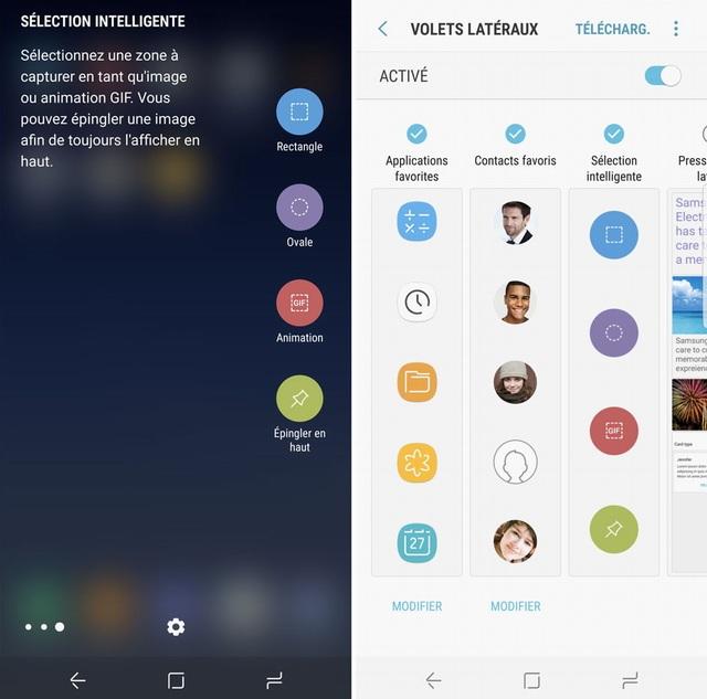 Créer des GIF animés sur Galaxy S8