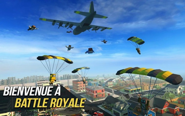 Grand Battle Royale - alternative à PUBG