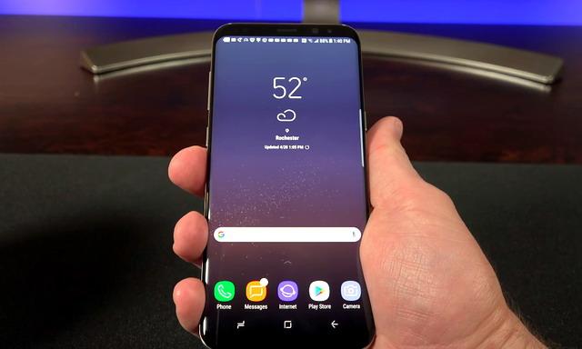 Mettre votre Samsung Galaxy S8 en mode d'utilisation à une main