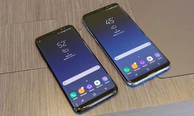 Modifier la taille des icônes dans l'écran d'accueil sur Galaxy S8