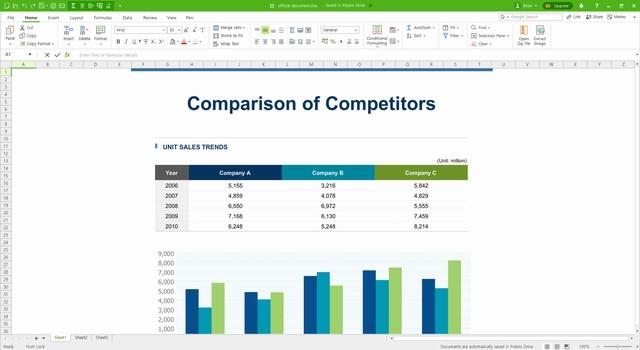 Polaris Office - alternative gratuite à Microsoft Office