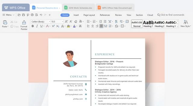 WPS Office - alternative gratuite à Microsoft Office