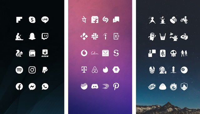 Whicons - meilleur packs d'icônes
