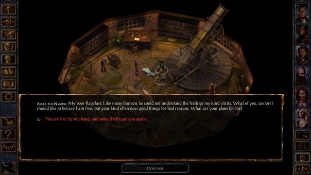 Jouer à des jeux PC sur Android - Baldur's Gate