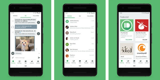 Pushbullet - alternative à iMessage pour Android