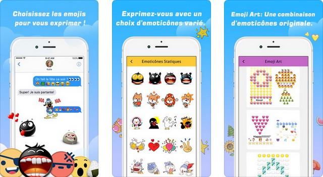 Emoji - L'art des émoticônes & Clavier à polices
