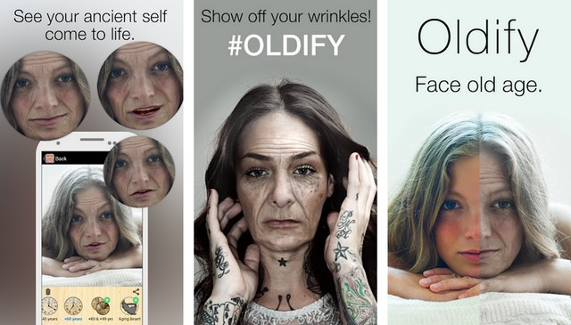 Oldify - Alternative à FaceApp