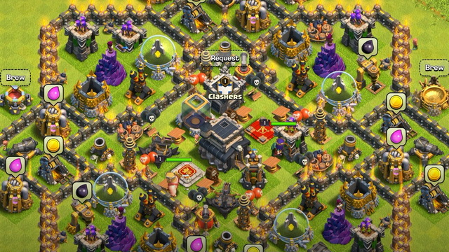 Clash of Clans - jeu de Tower Defense