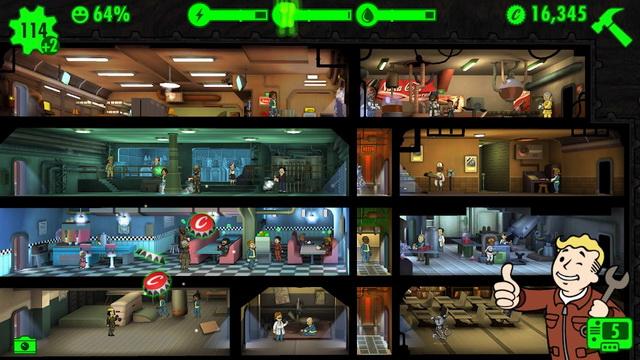 Fallout Shelter - Jeu de simulation