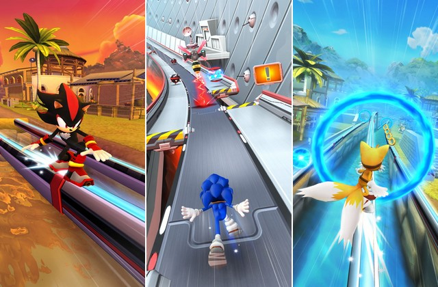Sonic Dash 2 - jeu endless runner