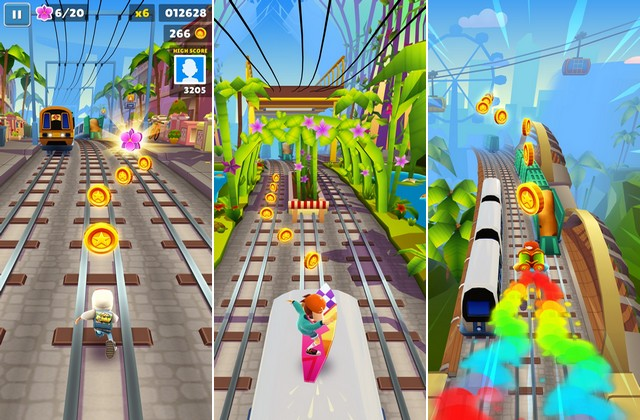 Subway Surfers - jeu endless runner
