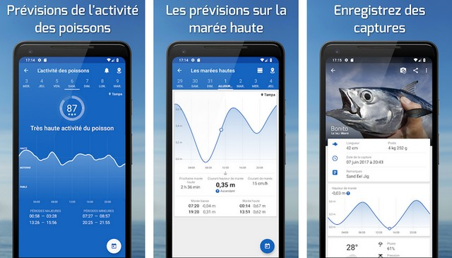 Fishing Points - meilleures applications de pêche