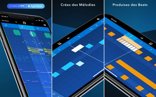 Medly - application de montage audio