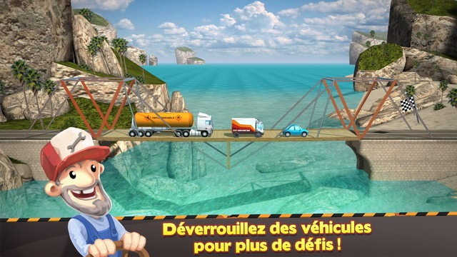 Bridge Constructor - jeu de simulation