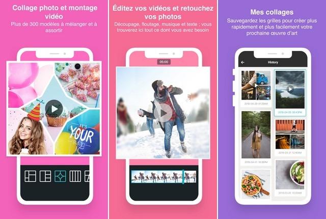 PhotoGrid - application de retouche photo
