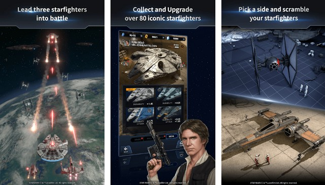 Star Wars Starfighter Missions