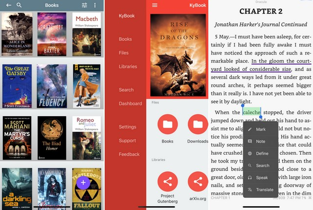 KyBook 2 Ebook Reader