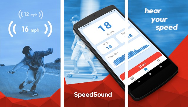 SpeedSound - application de compteur de vitesse