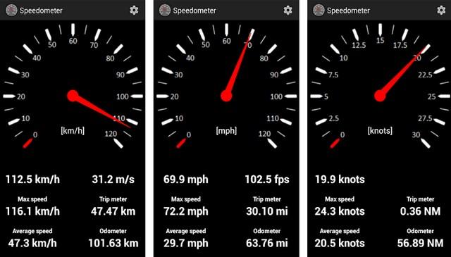 Speedometer - application de compteur de vitesse