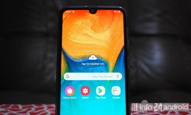 Comment faire une capture d'écran sur Samsung Galaxy A30