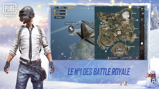 PUBG Mobile - meilleur jeu Battle Royale