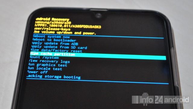 Vider le cache sur Samsung Galaxy A30