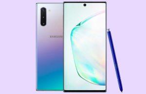 Comment changer le fond décran du Samsung Note 10