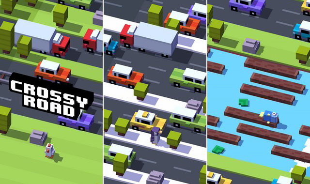Crossy Road - jeu arcade
