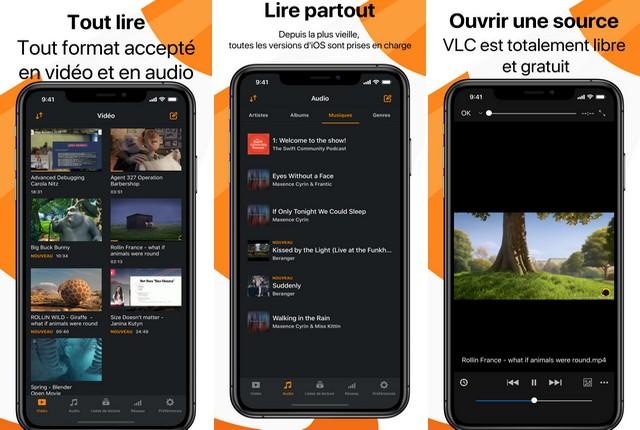 VLC - meilleur lecteur vidéo
