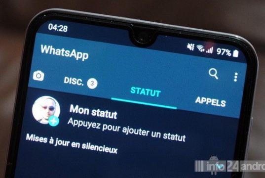 Comment activer le mode sombre sur WhatsApp sur Android