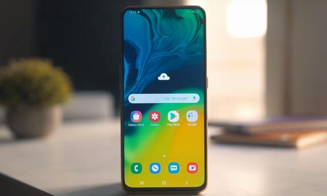 enregistrer écran Samsung Galaxy A80