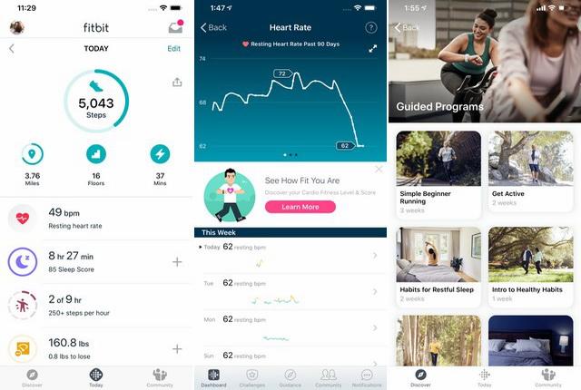 Fitbit - Application de suivi du sommeil