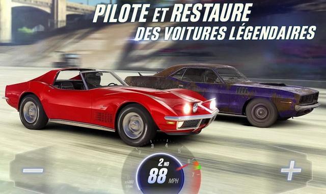 CSR Racing 2 - meilleur jeu de voiture