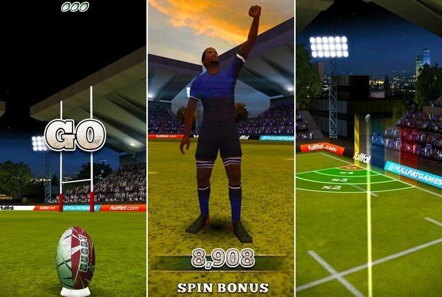 Flick Rugby - Jeu de sport
