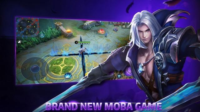 Legends of Ace - jeu MOBA