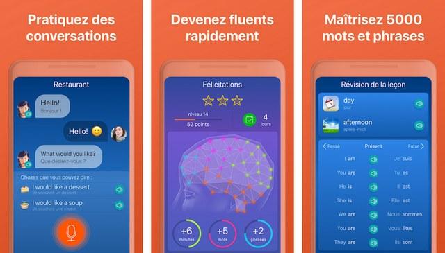 Mondly - application apprentissage