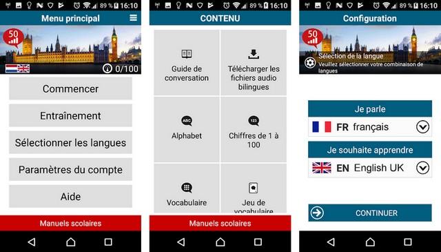 50 Languages - meilleures applications pour apprendre une langue