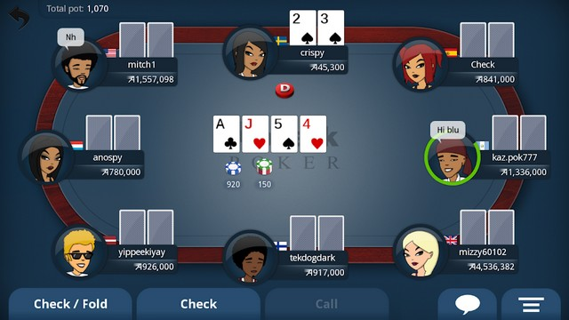 Appeak - meilleure jeu de poker sur Android