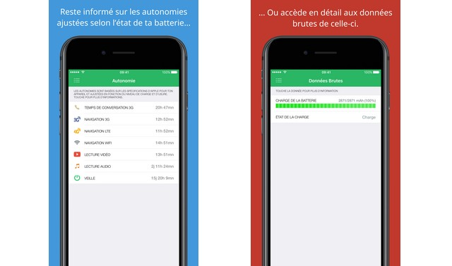 Battery Life - application économiseur de batterie pour iPhone