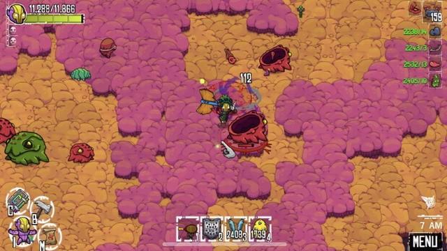 Crashlands - meilleur jeu Sandbox pour iPhone