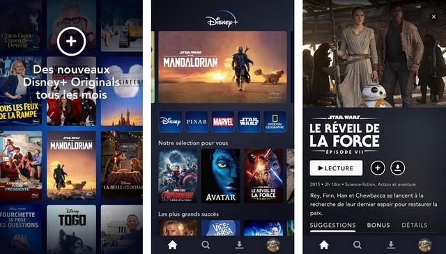 Disney+ meilleur application pour Android