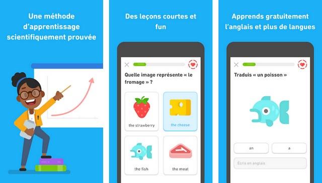 Duolingo - application Android pour apprendre une langue