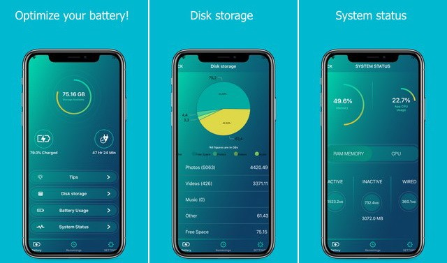 Full Battery - application économiseur de batterie pour iPhone