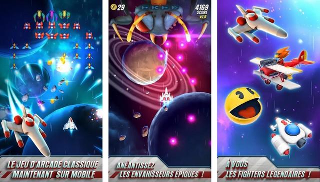 Galaga Wars - meilleur jeu spatiaux sur Android