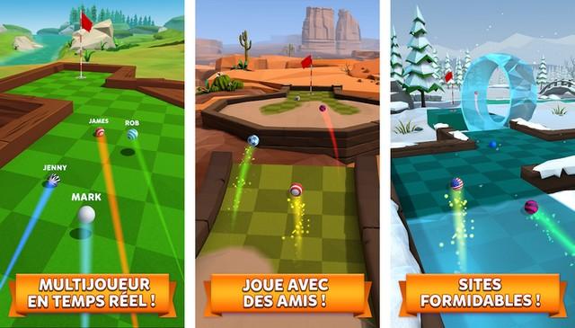 Golf Battle - meilleur jeu pour Android